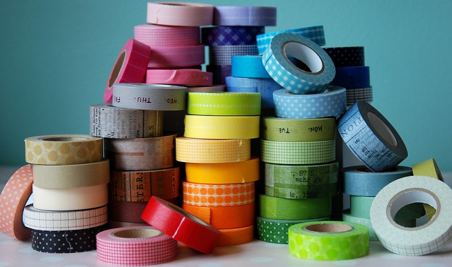 Qu har as con washi tape Ideas para decorar con washi tape